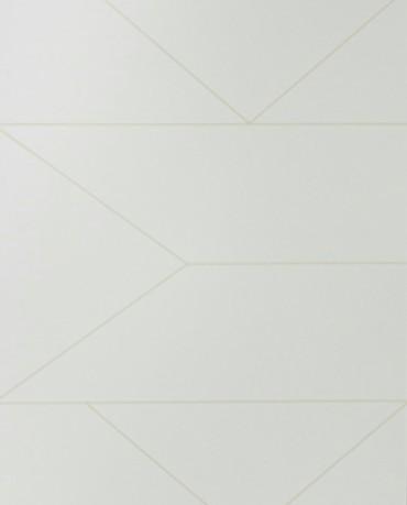Papel Pintado Lineas Blanco roto