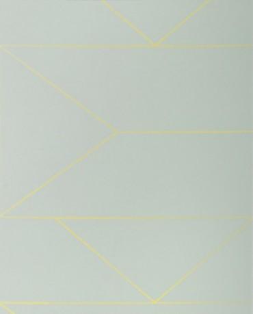 Papel Pintado Lineas Mint