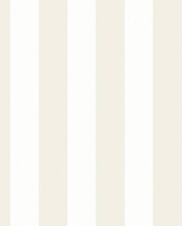 Papel Pintado Raya ancha beige