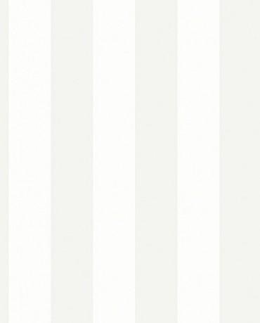 Papel Pintado Raya ancha gris