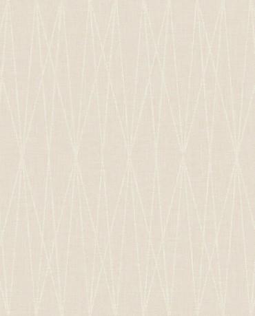 Papel Pintado rayas geométrico crudo