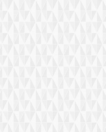 Papel Pintado triángulos geométricos gris