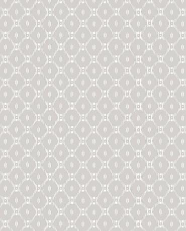 Papel Pintado geométrico ralla gris