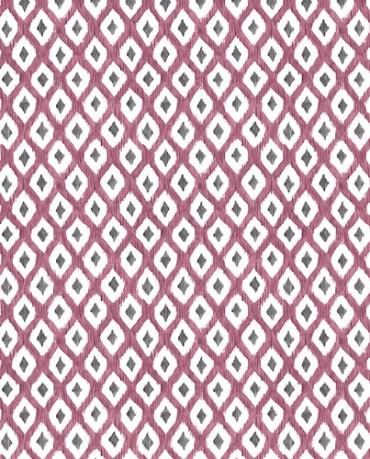 Papel Pintado rombo print cereza