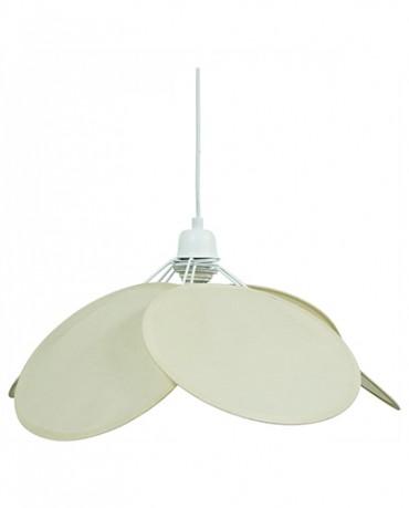 Lámpara Pétalos algodón natural