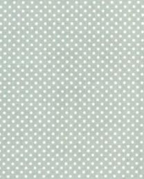 Hule Topitos gris azulado