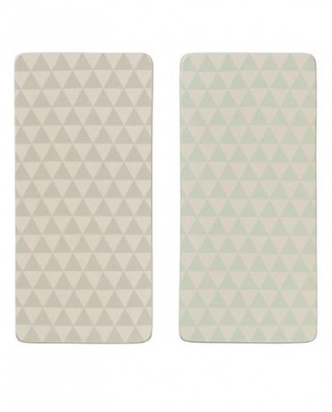 Tablas de cerámica geométricas