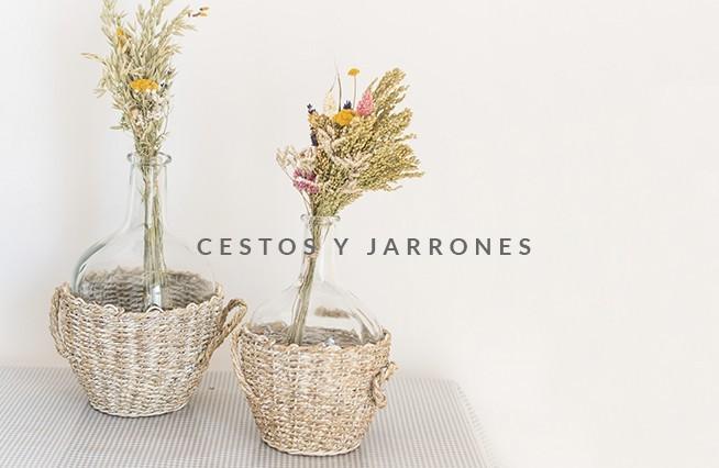 CESTOS Y JARRONES